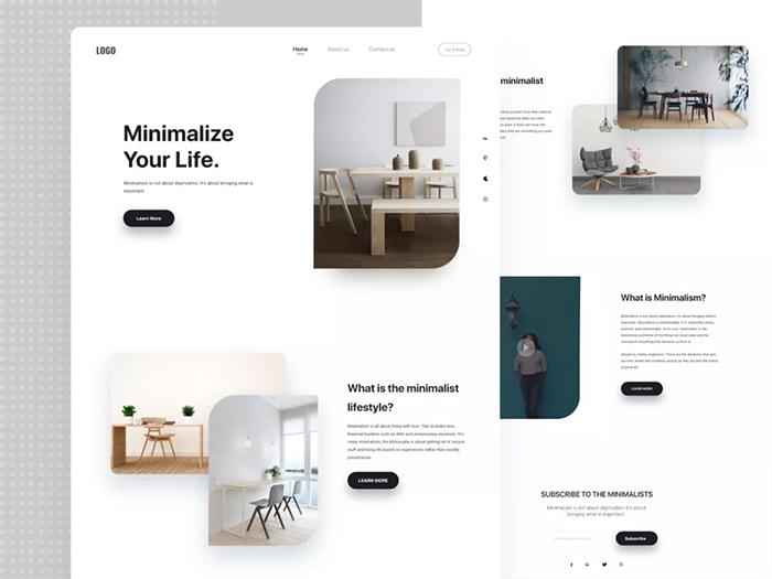 網頁設計技巧:如何發揮極簡風格的優勢