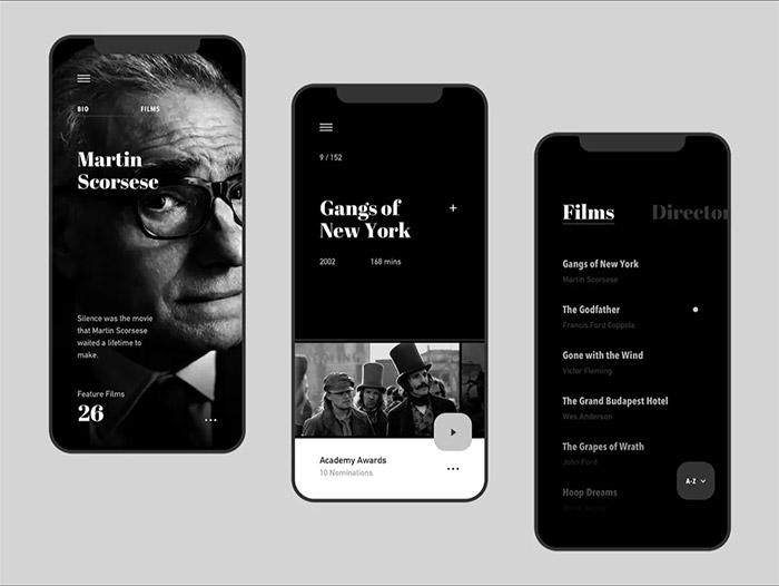 黑色背景UI設計需注意哪些內容?黑色搭配什麼顏色能提升網站高級感