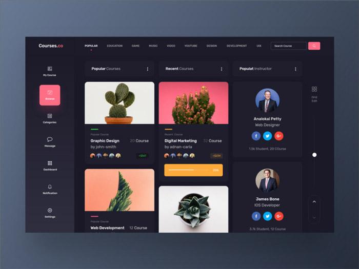 分享深色模式的實用UI設計技巧 為用戶提供更好的使用體驗